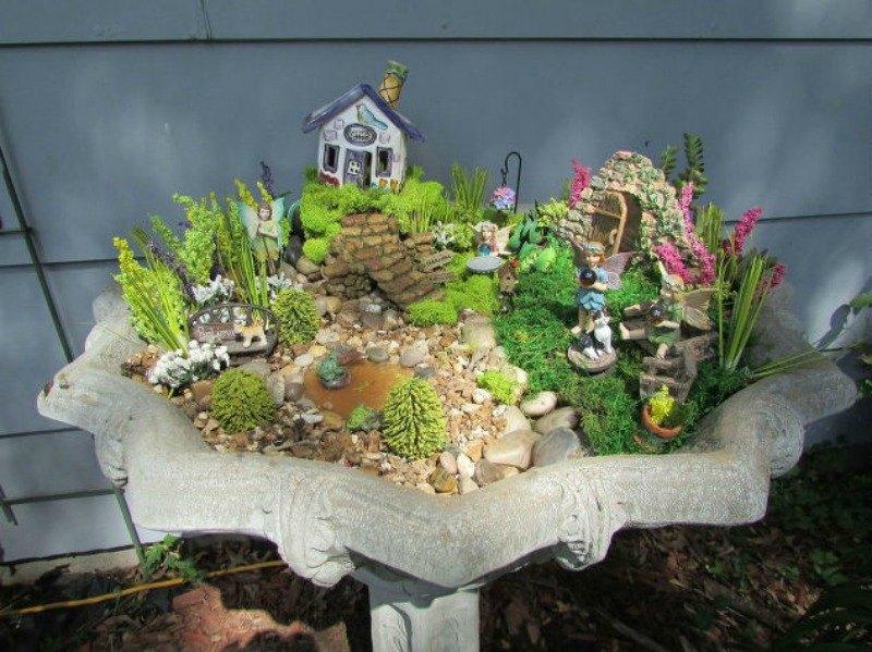 10 Magical Inspirations For A Fairy Garden Hometalk