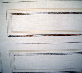 & My alumnum garage door has rusted on the squares... | Hometalk