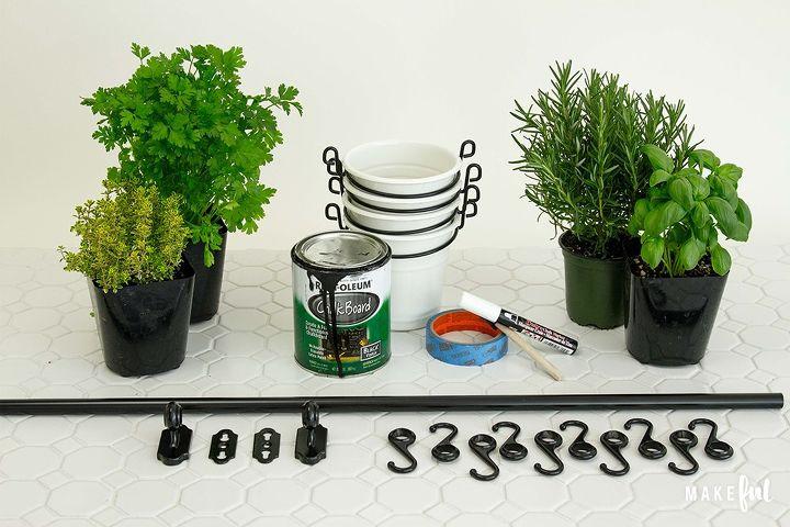Diy Chalkboard Label Kitchen Herb Garden Hometalk