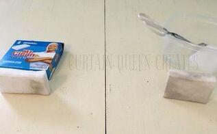 make your own magic eraser sponges