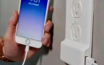 Install a USB Outlet Cover in a Snap!