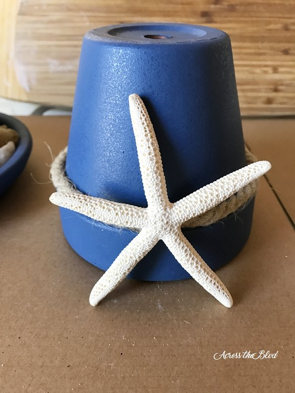 coastal candle holder