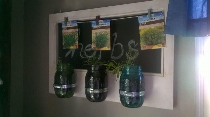 e update on my majon jar herbs