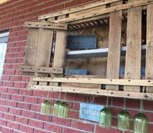patio bar cabinet or chicken coop, At last