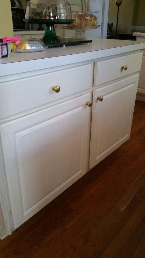 Redoing My Kitchen Peeling Cabinets One at a Time | Hometalk