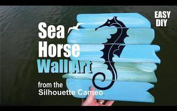 Seahorse Nautical Wall Art