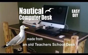 Nautical Computer Desk