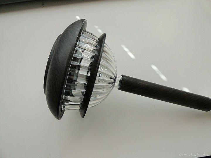 diy outdoor solar rope lamp