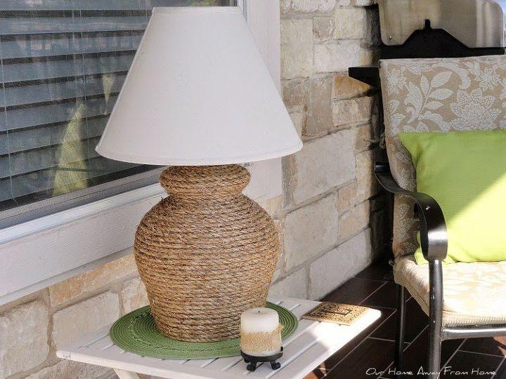 Diy Outdoor Solar Rope Lamp Hometalk