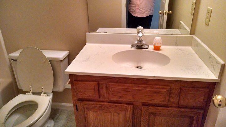 guest bathroom facelift