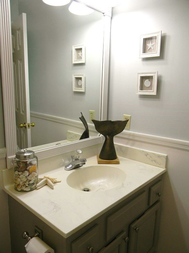 Guest Bathroom Facelift Hometalk - Bathroom facelift