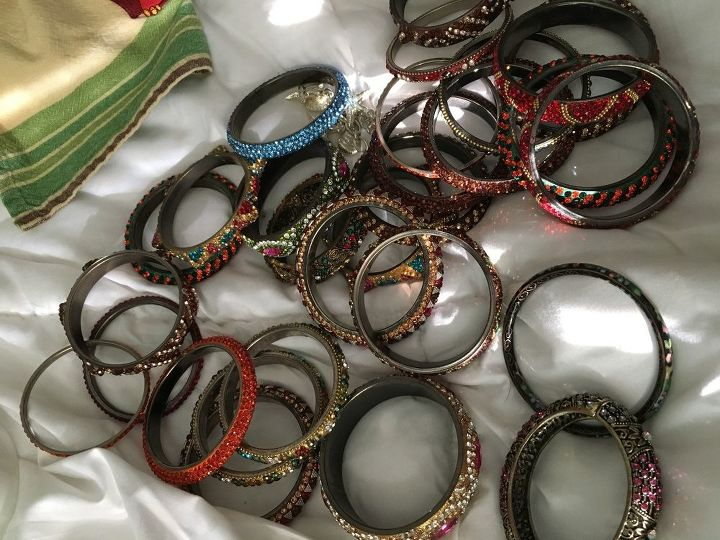 q what can i do with these bangles i don t wear anymore
