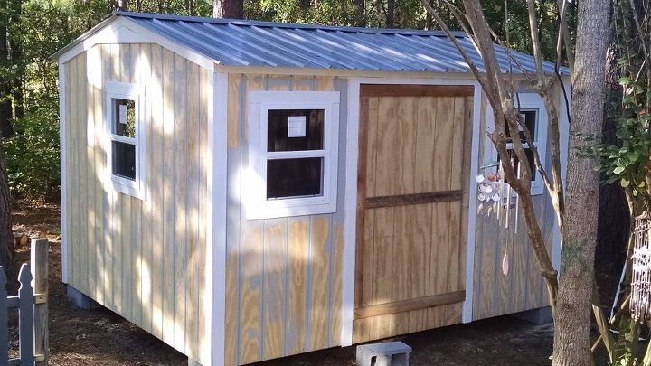 Our New Backyard Shed Hometalk