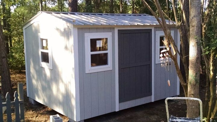 our new backyard shed