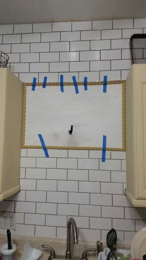 kitchen tile project