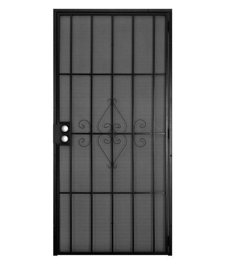 q screen on security door