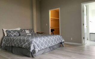 simple master bedroom remodel