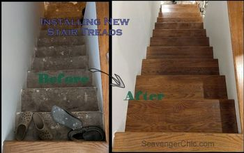 Weekend Project – Installing New Stair Treads