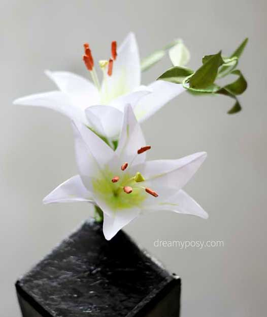 DIY Lily Flower From Normal Printer Paper, FREE Template | Hometalk