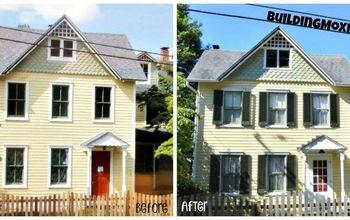 Restoring Exterior Wood Window Shutters