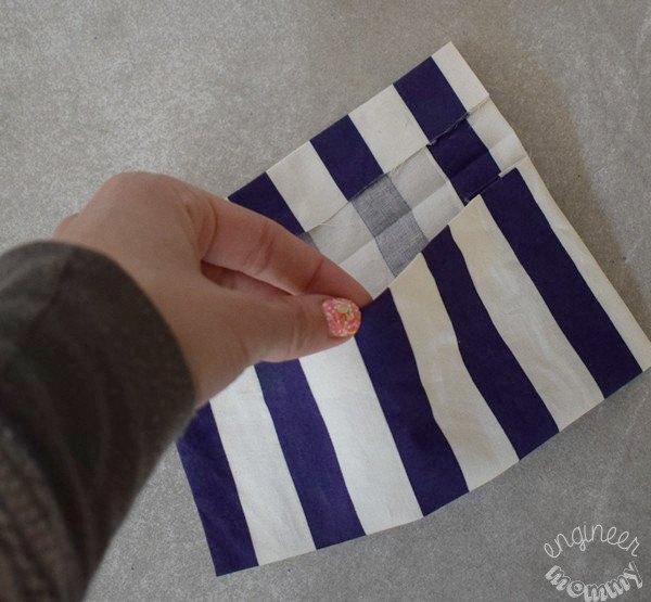 diy no sew pet treat pouch
