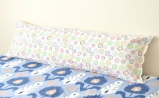 diy body pillow from two jumbo pillows