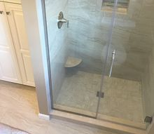 how to install a custom shower pan in less than 2 hours