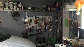 , I put shelves in garage I gained 30 feet of storage