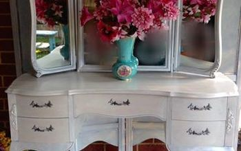 French Vanity Makeover.