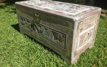 Painted Camphor Chest