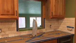 , This is before the grout was added