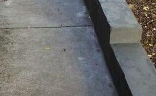besser or concrete cinder block garden edge walls
