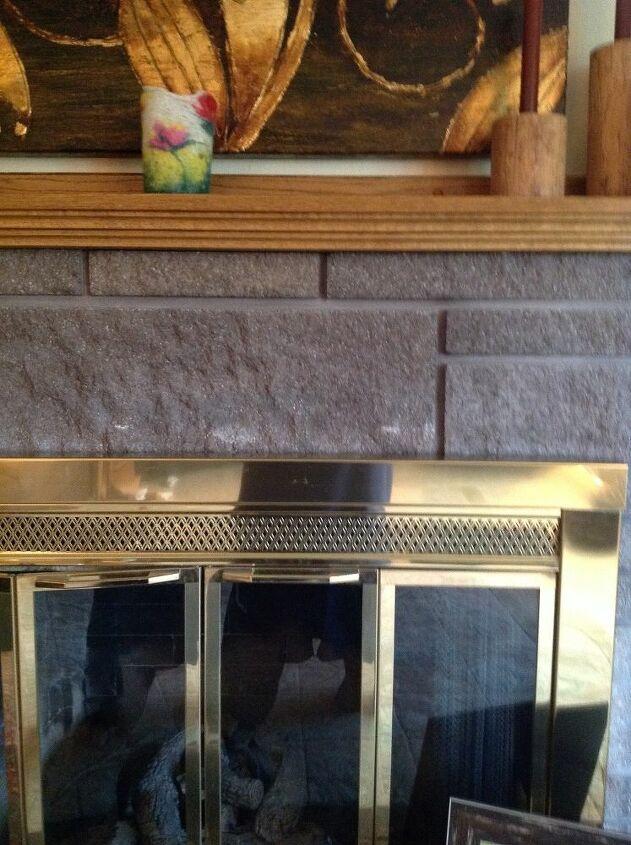 q how do you remove lighter areas on bricks