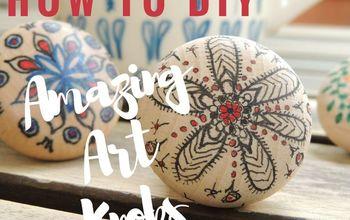 How to DIY Amazing Art Knobs