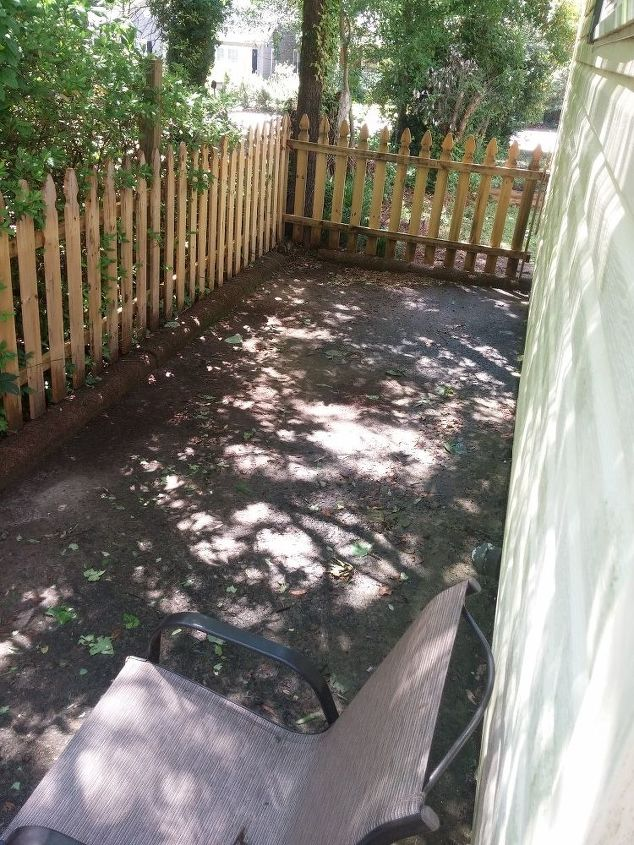 q damp patio what can i do