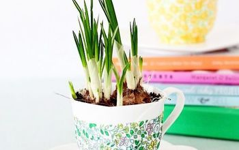 how to decorate spring planters two ways