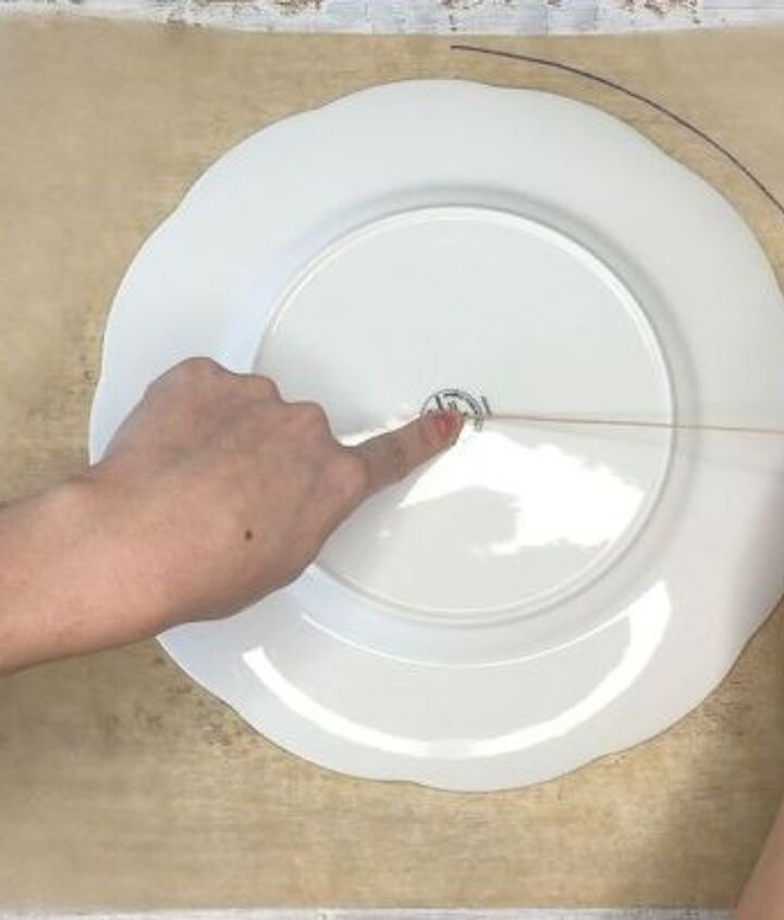 hot glue placemats