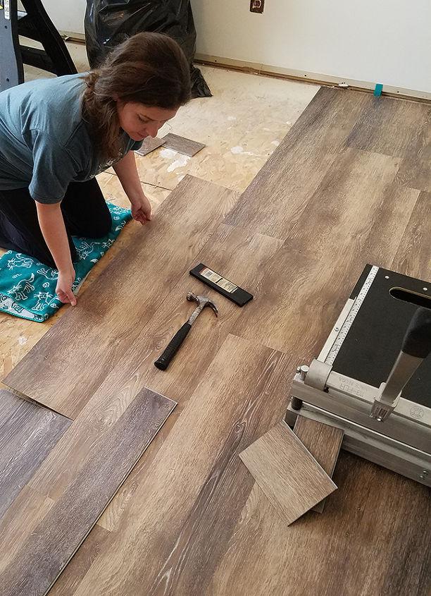 How To Install Vinyl Plank Flooring Hometalk