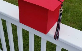 graduation cap card holder box