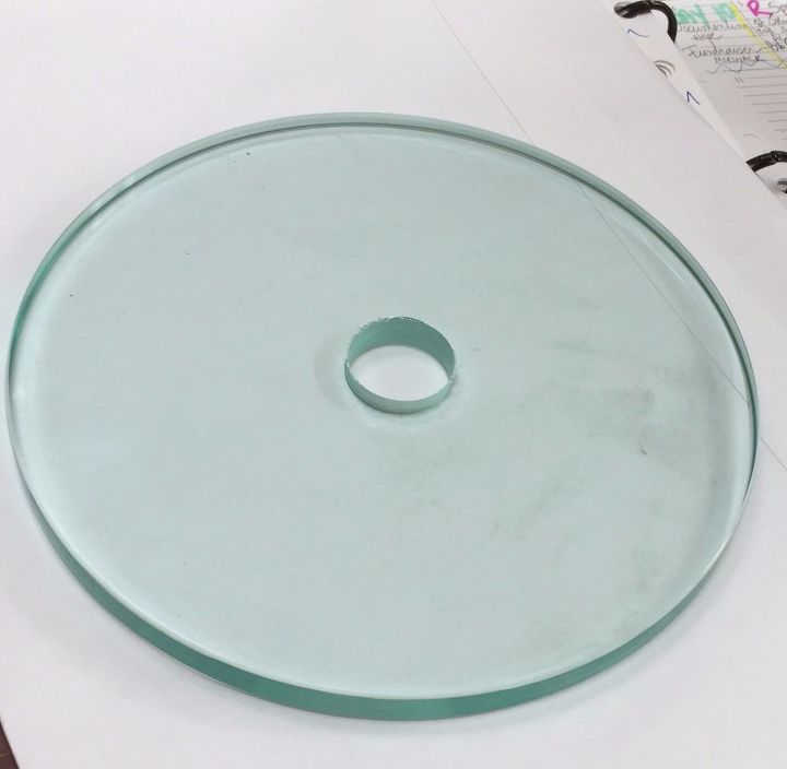 q what to do with 1 centinmeter thick glass disks about 6 5 wide