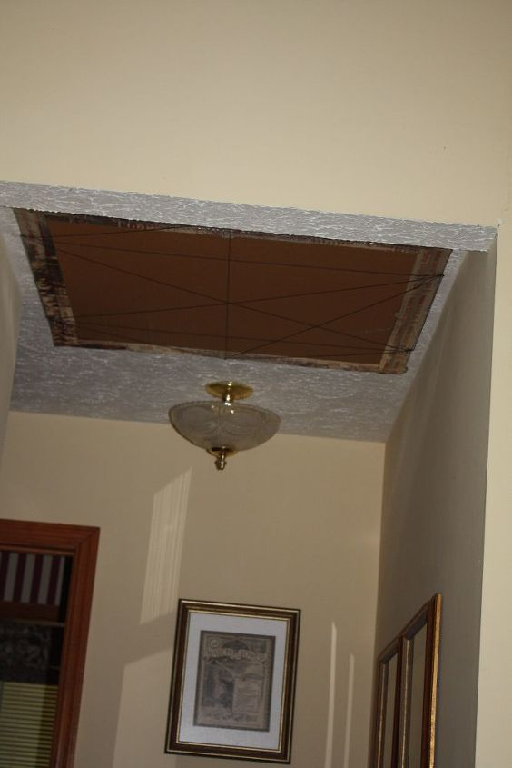 q what can beautify his ceiling hole