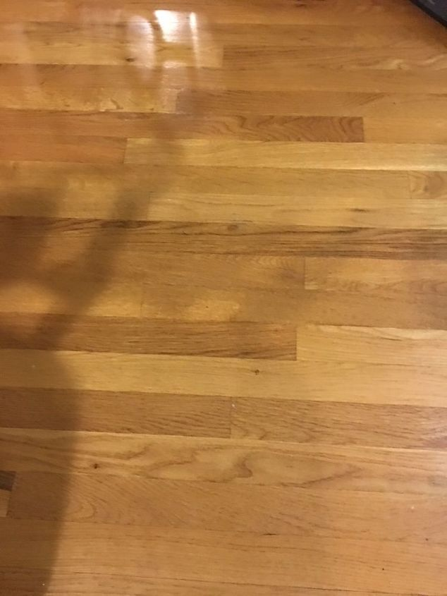 q hardwood floors question