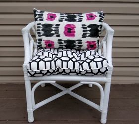Bamboo Chairs Upcycled Hideous To Stylish