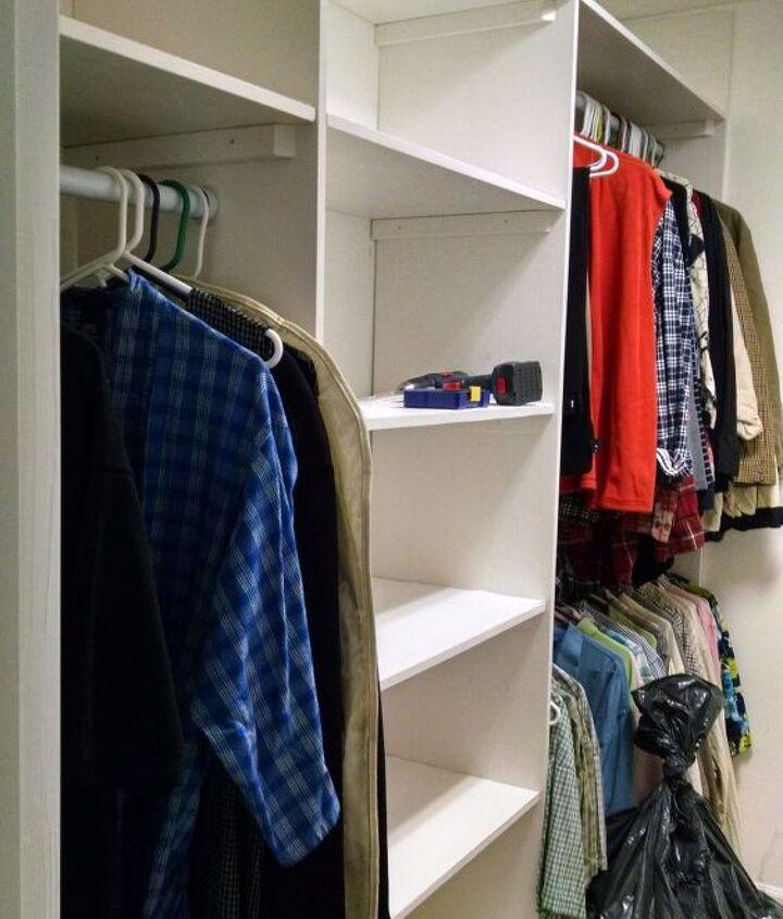 master closet build