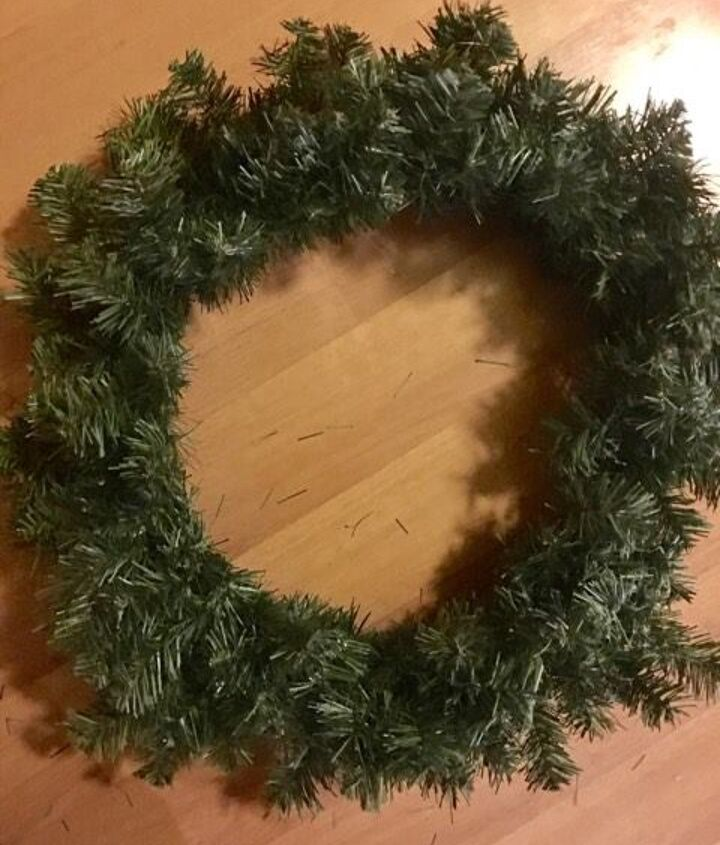 Pine base can be found at craft stores