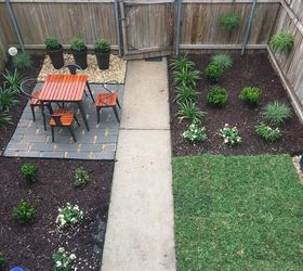 My Townhouse Backyard Makeover