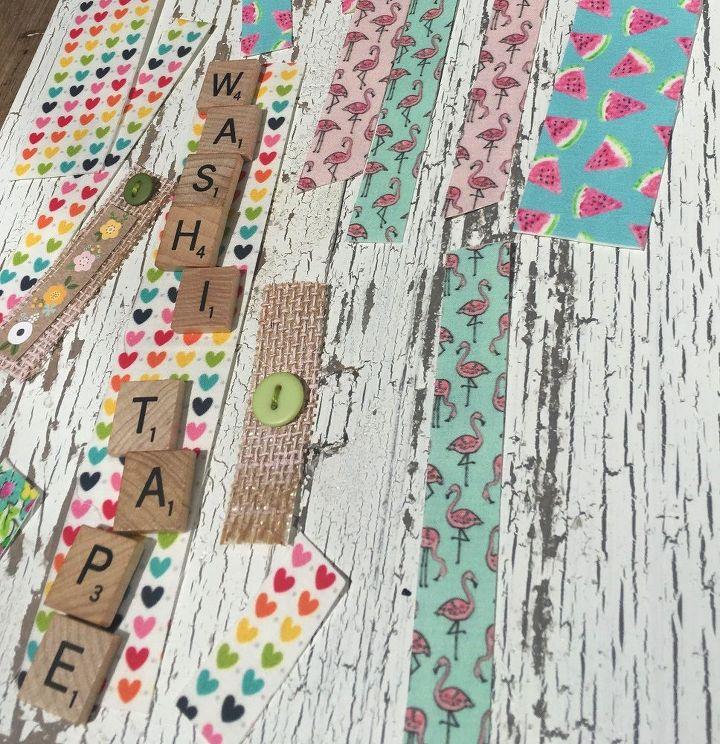 fabric washi tape