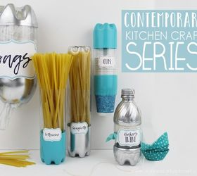 Contemporary Kitchen Craft Containers