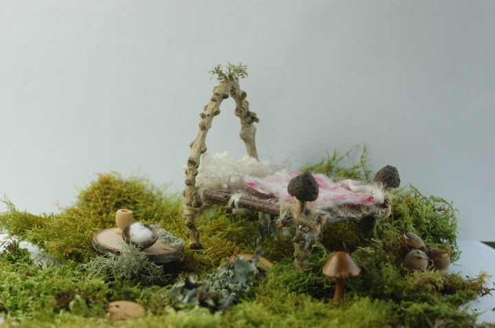 turning a gourd into a home for fairies