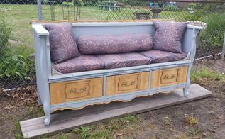french provincial dresser re purpose